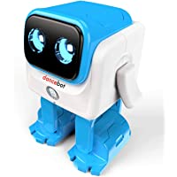 Echeers Kids Toys Dancing Robot for Kids with Stereo Bluetooth Speakers (Blue)