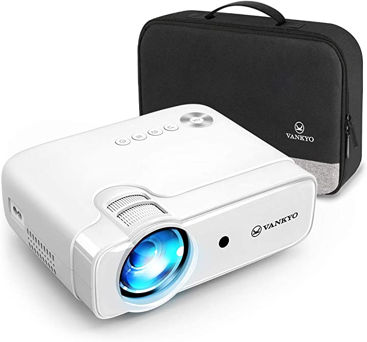 videoproiettore vankyo supporta 1080p, hifi speaker, con borsa portatile, per tv stick ios/android/entry-level van92-l430-itwh0a-n1s1