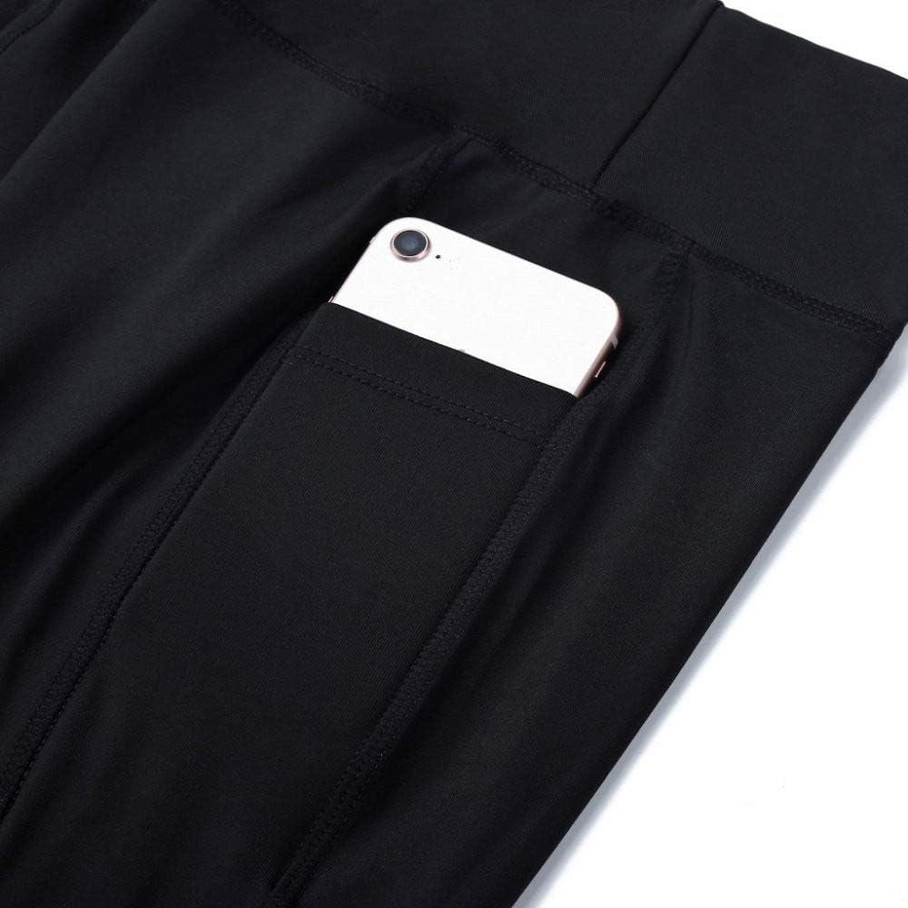 WJFGGXHK Pantalones Cortos de Yoga para Mujer,con Cintura Alta Polaina Shorts,Negro Deportes Gimnasio ejecuci/ón Shorts c/ómodos Pantalones de Yoga Ejercicios Transpirable para Las Mujeres,Imagen,S