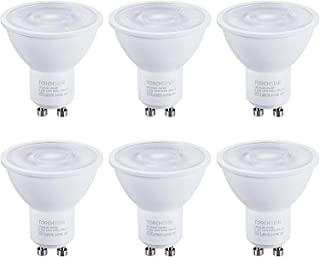 Best TORCHSTAR Dimmable GU10 LED Bulbs, 6.5W(50W Eqv.), Spotlight Bulb, 500lm, UL & Energy Star Listed, 5000K Daylight, for Track Lighting, Recessed Light, 3 Years Warranty, Pack of 6 Review
