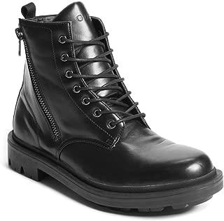 GUESS Men's Archibald Combat Boot