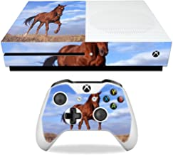 MightySkins Skin Compatible with Microsoft Xbox One S - Horse | Protective, Durable, and Unique Vinyl Decal wrap Cover | Easy to Apply, Remove, and Change Styles | Made in The USA