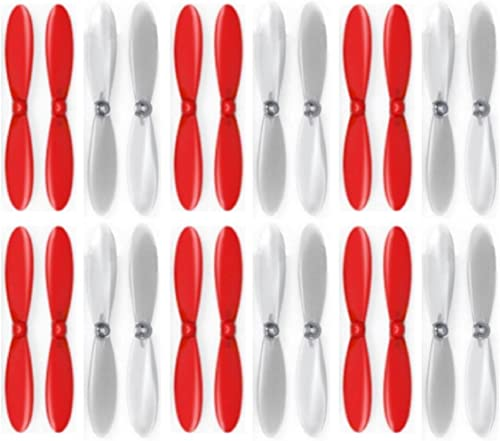 6 x Quantity of Estes Dart rouge Clear Propeller Blades Props Propellers Transparent - FAST FROM Orlando, Florida USA
