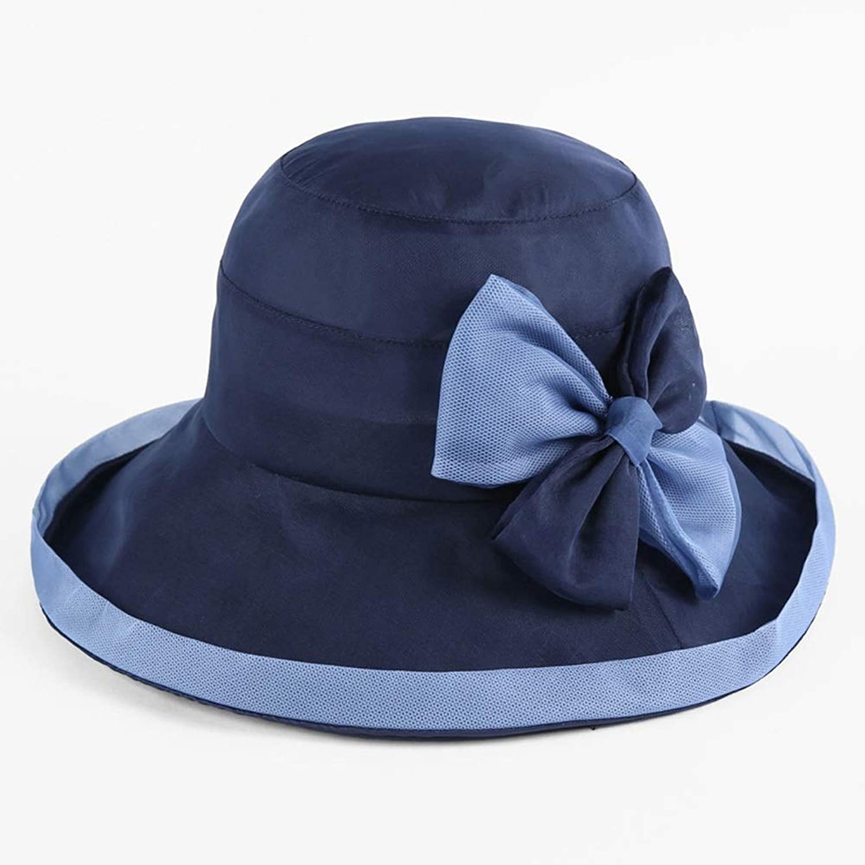 YD Hat  Women's Summer Sun Hat Outdoor Travel AntiUV Beach Cap Collapsible Sun Hat (5 colors)    (color    1)