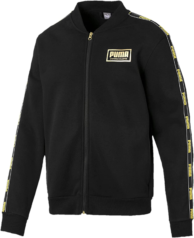 PUMA Men's Holiday Pack Bomber Jacket