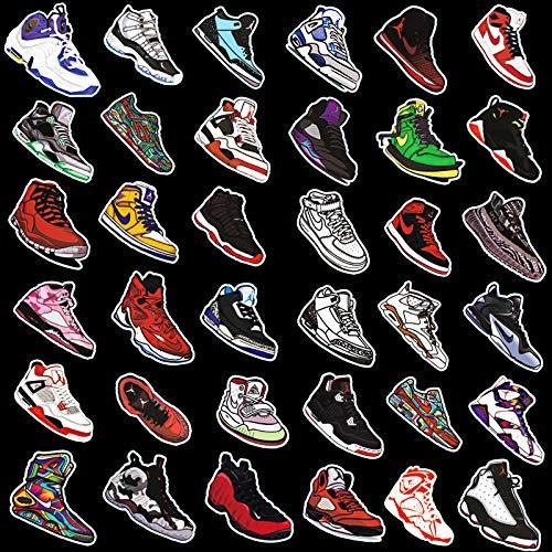 Trend Sneakers - Adhesivo impermeable para carrito de equipaje, 36 unidades