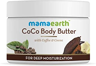 Mamaearth CoCo Body Cream Butter For Dry Skin, For Winters better than body lotion, with Coffee & Cocoa for Deep Moisturization- 200g