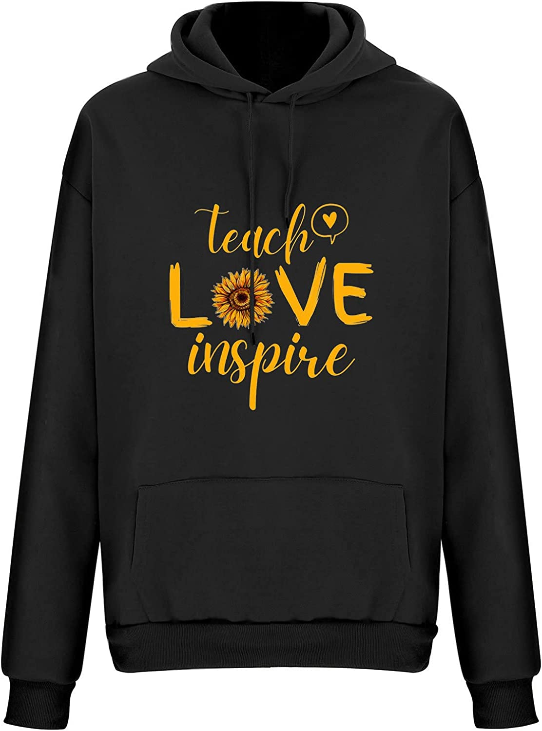Hoodies for Women Plus Size Women's Sweatshirts Cute Printing Long Sleeve Pullover Tops Hooded Shirt for Autumn Winter
