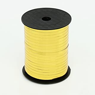ZOOYOO 500 Yards Balloon String Party Decorative Supplies Balloon Curling Ribbons For Decoration Balloon Accessories,Gold