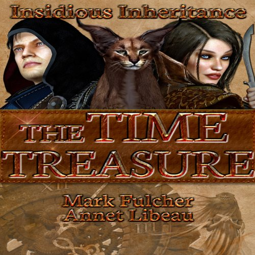 The Time Treasure audiobook cover art