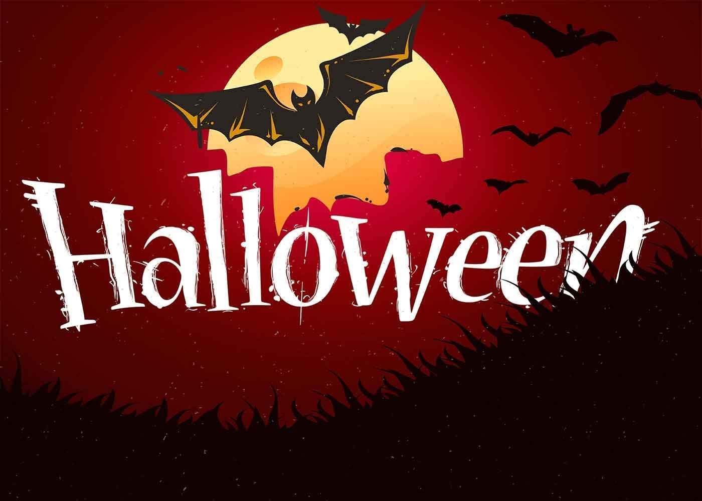 15x10ft Halloween Party Photography Backdrop Photo Booth Background Props LHFU560