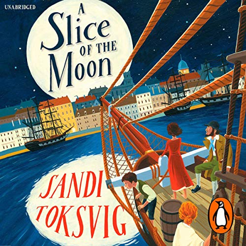 A Slice of the Moon audiobook cover art