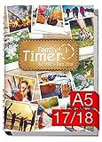 Chäff Family-Timer 2017/2018 - Der Familien-Planer! 18 Monate Juli 2017-Dezember 2018, Familienkalender