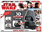 Educa- Star Wars-Darth Vader 3D Sculpture Puzzle, Multicolor (17334)