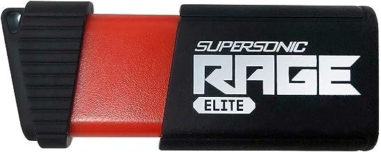 Patriot Memory Supersonic Rage Elite 128GB Chiavetta USB 3.1 velocità fino a 400 MB/sec PEF128GSRE3USB