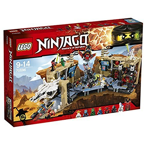LEGO Ninjago 70596 Scatola Leggermente rovinata