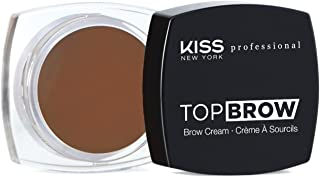 Kiss New York Professional Top Brow Eyebrow Cream - KBCM05 Chocolate
