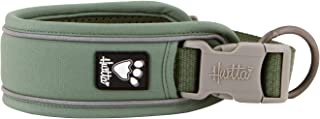 Hurtta Weekend Warrior ECO Dog Collar, Hedge, 10-14 in