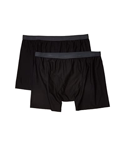 ExOfficio Give-N-Go(r) 2.0 Boxer Brief 2-Pack (Black) Men