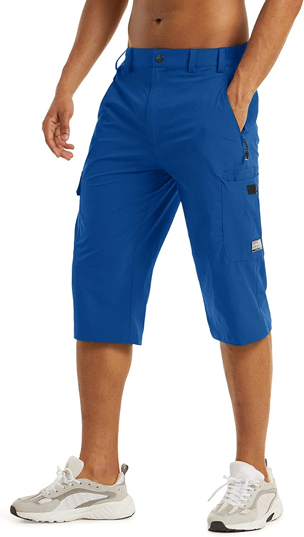LASIUMIAT Men's Summer Workout Shorts Nashville-Davidson Mall Pants 3 Loose-Fit 4 Max 80% OFF Capri