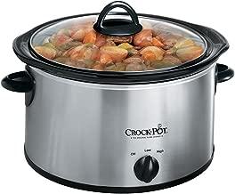 Crock Pot 3040-BC-NP Olla de Lento Cocimiento, Cerámica, acero inoxidable