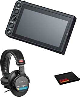 """Canon LM-V1 4"""" LCD Monitor for Canon C200 & C300 Mk II Bundle with Sony MDR-7506 Headphones and More"""