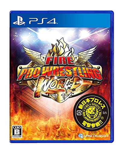Spike Chunsoft Fire Pro Wrestling World SONY PS4 PLAYSTATION 4 JAPANESE VERSION [video game]