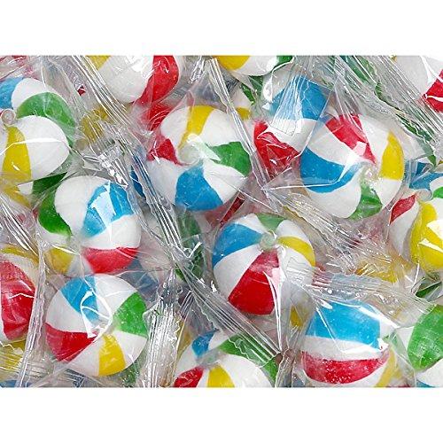 Sassy Spheres Jumbo Beach Balls Hard Candy