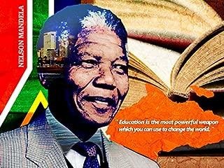 777 Tri-Seven Entertainment Nelson Mandela Poster Education is Powerful Weapon Art Print, 24