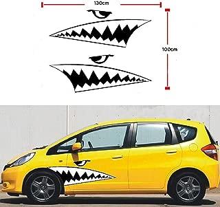 sharks teeth decals
