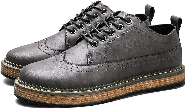 Lederschuhe Herren Lederschuhe Sport Casual Oxford Low-Top-Schuhe  | Vorzugspreis