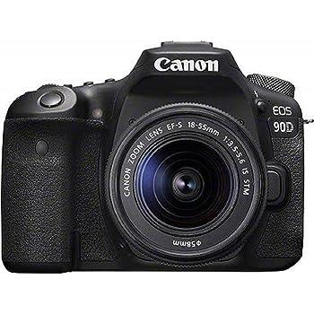 Canon EOS 90D - Cámara Réflex de 32.5 MP (Sensor APS-C, 45 Puntos ...