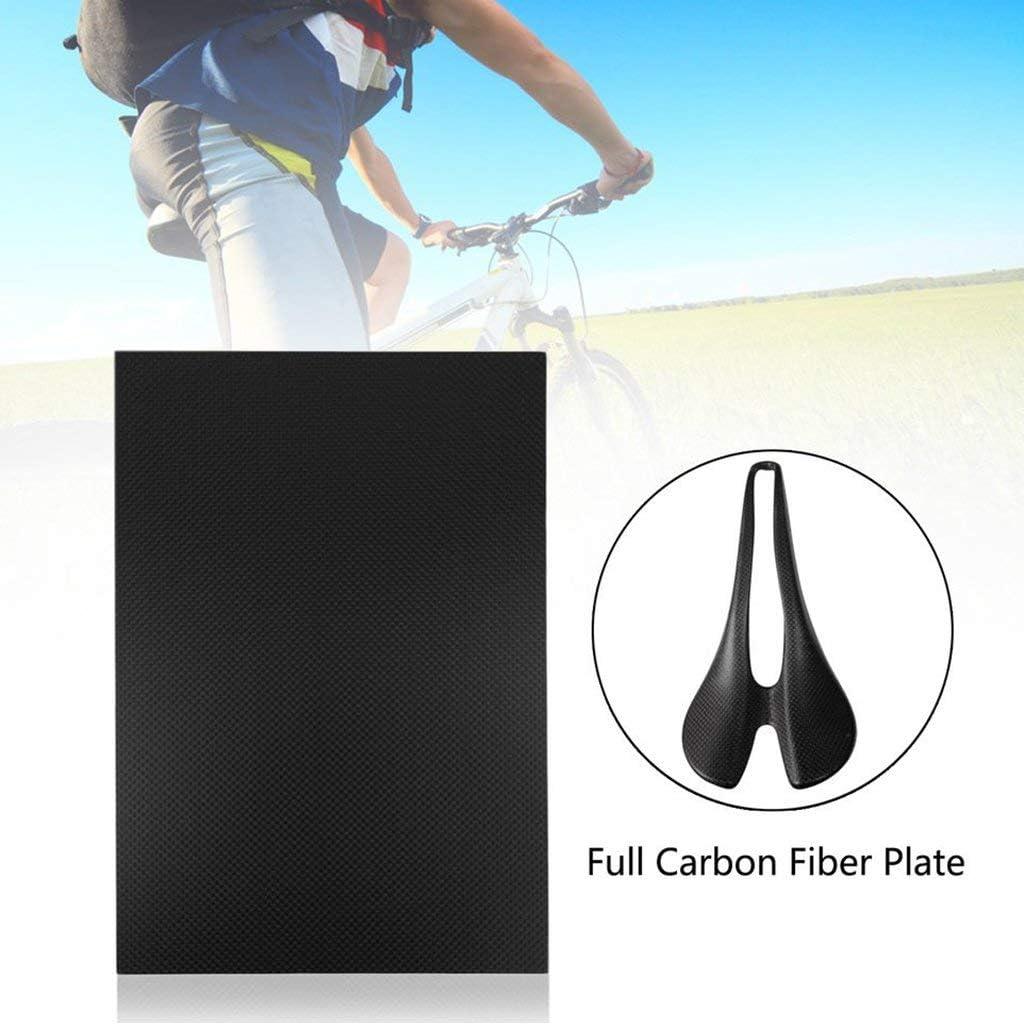 0.2mm /à 1.0mm-0.3mm 200X500mm Wzqwzj Panneau de Surface Mate de serg/é de Plaque de Fibre de Carbone de