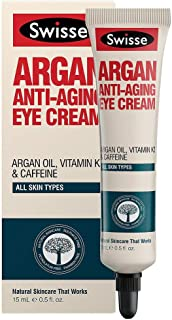 Swisse Argan Anti-Ageing Eye Cream, 15ml