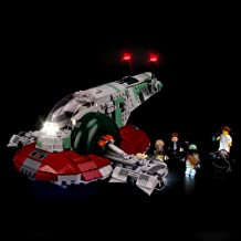 BRIKSMAX Led Lighting Kit for Star Wars Slave I - Compatible with Lego 75243 Building Blocks Model- Not Include The Lego Set