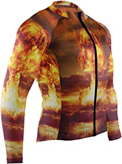 Judgement Day Comment Central Mens Cycling Jersey Top Full Sleeve Road Cycle Apparel Outfit