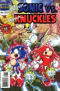 Super Sonic vs. Hyper Knuckles 1 (Sonic the Hedgehog)
