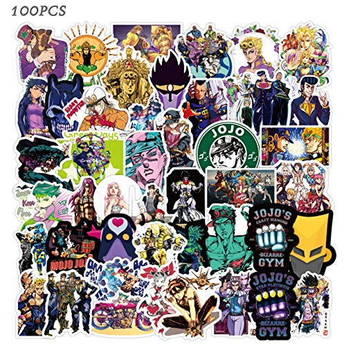 Jojos Bizarre Adventure Stickers 100PCS...