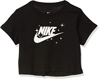 Nike Girl's G Nsw Tee Crop Starry Night T-Shirt