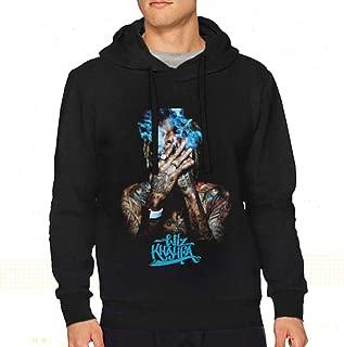 StellaR. Walker Men Wiz Khalifa Music Band Long Sleeve Drawstring Hooded Comfortable Hooded