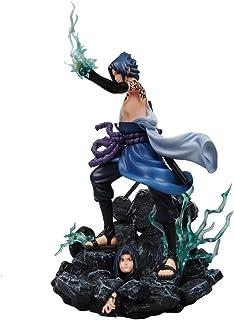 الرقم العالمي لناروتو uchiha sasuke لعب تمثال تمثال تمثال pvc نيندرويد مفرغ من عدة قطع من عدة قطع من في الولايات المتحدة ا...