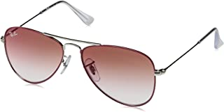 743191230d Ray-Ban JUNIOR 0RJ9506S Gafas de sol, Silver On Top Red, 50 Unisex