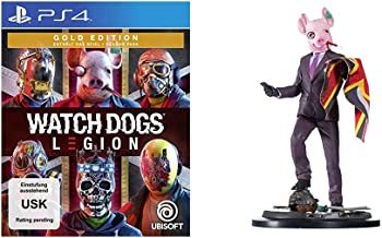 Watch Dogs Legion Gold Edition - [PlayStation 4] + The Resistant of London Figur