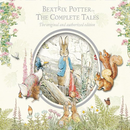 Beatrix Potter: The Complete Tales cover art featuring Peter Rabbit, Jemima Puddleduck, Squirrel Nutkin, and others.