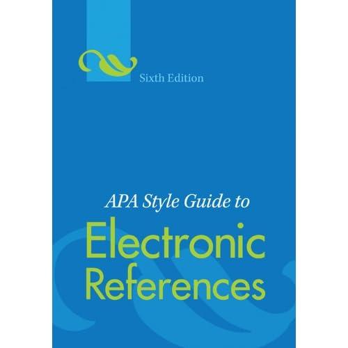 apa sixth edition free download