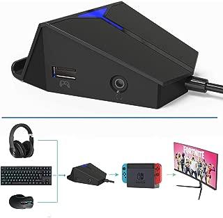Delta essentials ゲーミングキーボード&マウス 接続アダプタ PS4/Xbox One/Nintendo Switch 対応 音声チャットのサポート