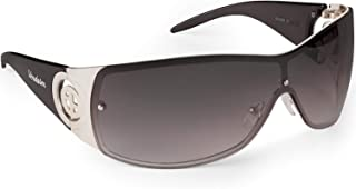 Verdster Large Casual Shield Sunglasses For Women - Rimless Gradient Lens