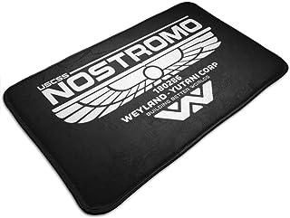 HUTTGIGH Alfombrilla antideslizante para puerta de baño con logotipo de Alien Nostromo, alfombra de cocina, alfombra de 48...