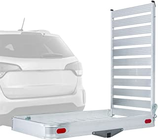 Apex Premium Aluminum Cargo Carrier with Ramp