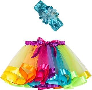 Jugendhj Girls Kids Tutu Party Dance Ballet Toddler Baby Suit Skirt+Headband Set